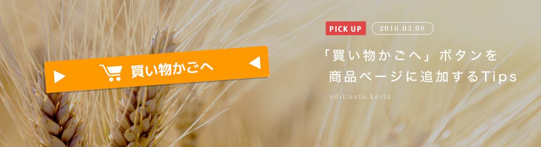 買い物カゴへボタンを商品ページに追加する方法